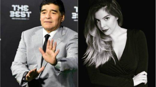 Diego no viene al casamiento de Dalma Maradona | La Banda ...